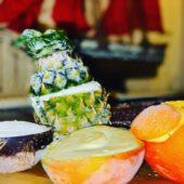 Мороженое в натуральных фруктах